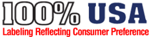 100% USA Logo