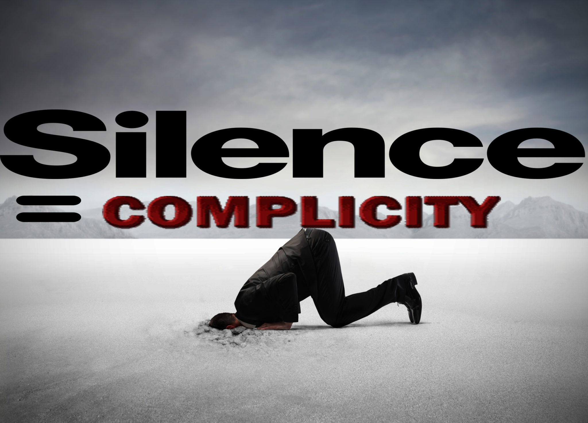 Silence is Complicit graphic image
