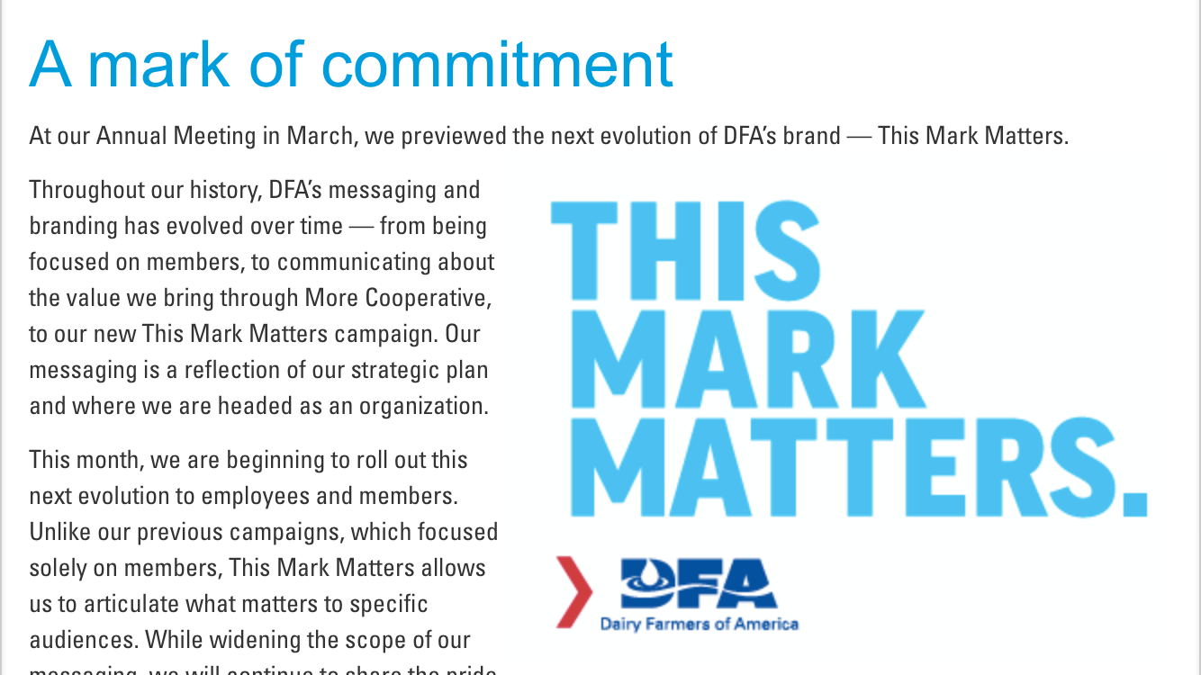 DFA This Mark Matters Intro Graphic